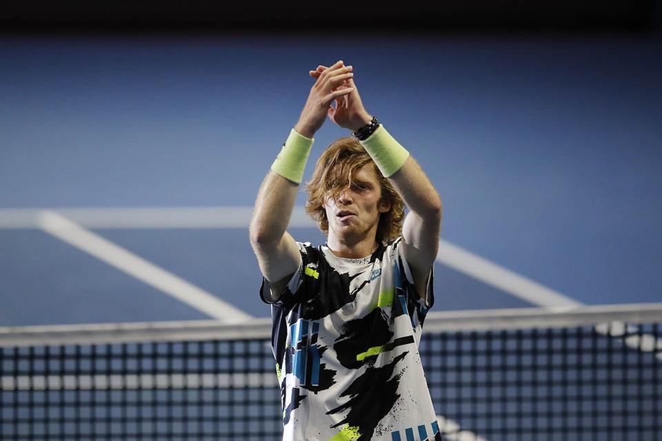 22-летний российский теннисист Андрей Рублев этой осенью на подъеме.