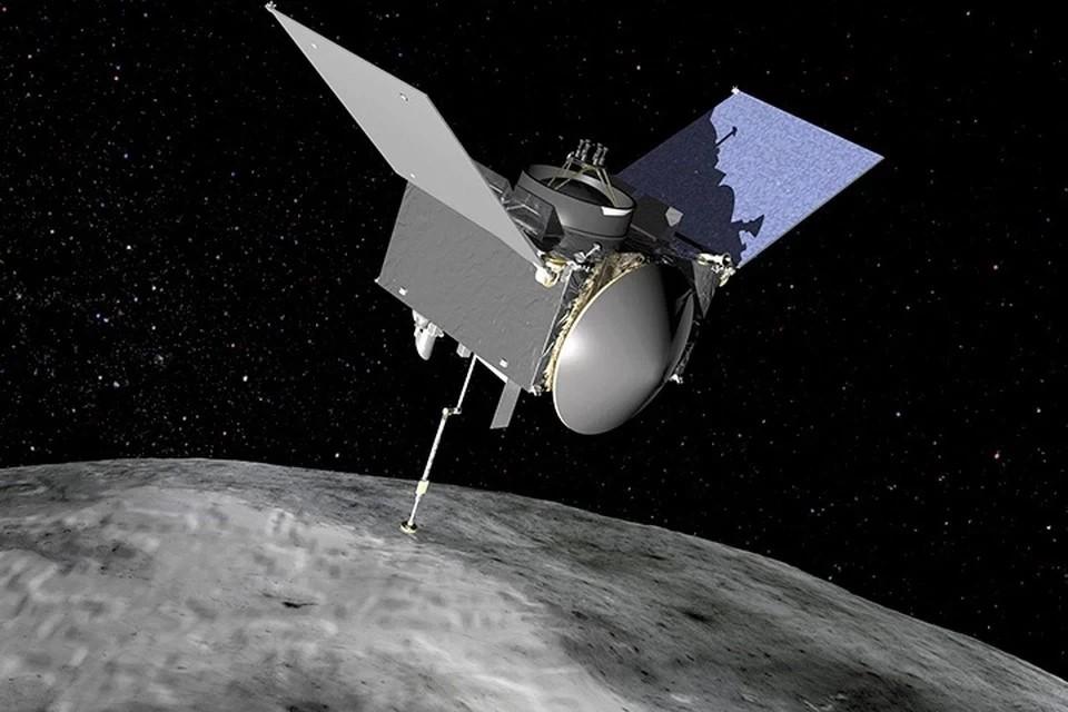 Космический зонд НАСА взял образцы грунта с астероида Бенну