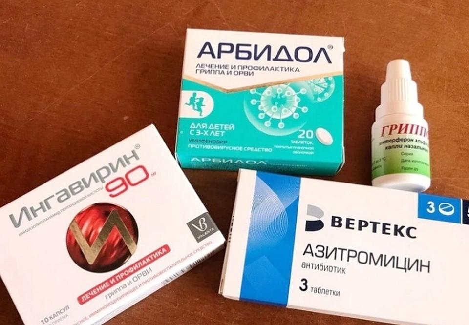 Стандартный набор лекарств выписывают и при диагнозе, и только при его подозрении