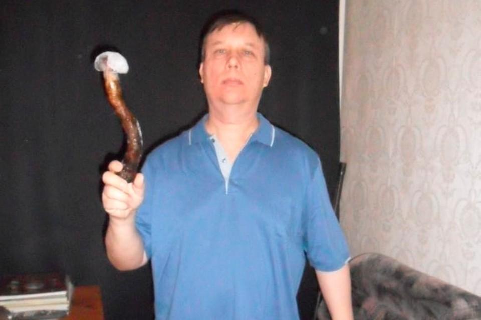 Петербуржец нашел гигантский гриб и попал в книгу рекордов России.