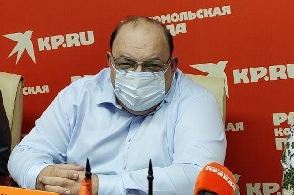 Олег Костин, министр здравоохранения Саратовской области