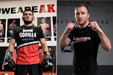 Бой Хабиб Нурмагомедов - Джастин Гейджи 24 октября 2020: прямая онлайн-трансляция боя UFC 254