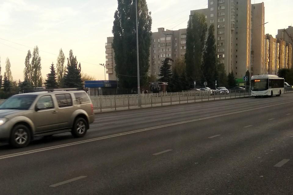 Специалисты проверили покрытие проспекта Победы в Липецке