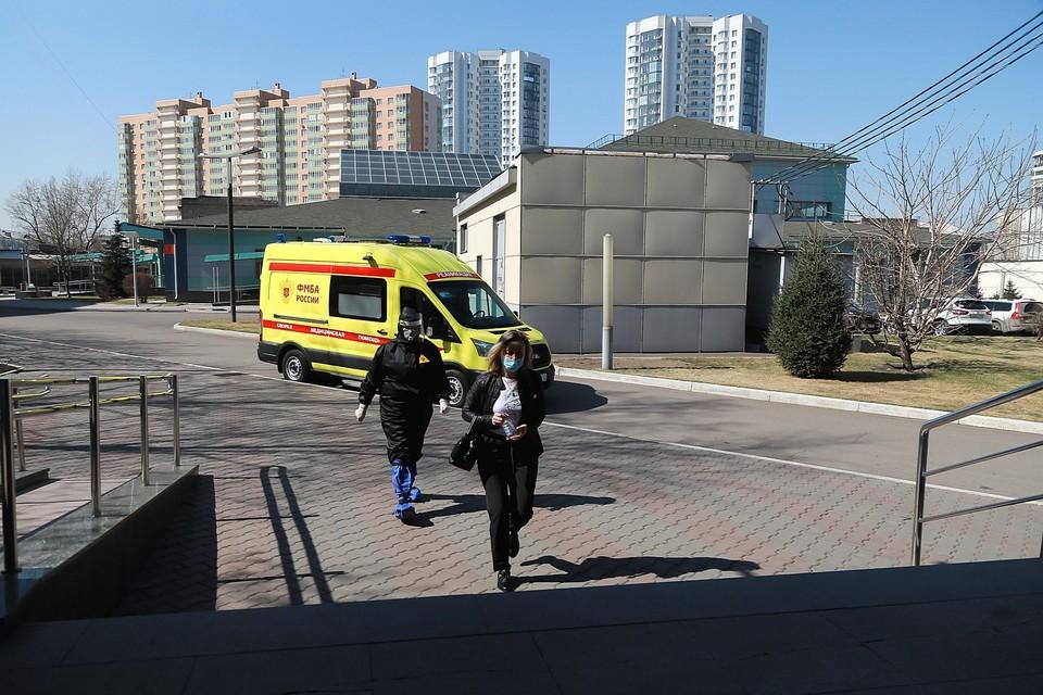 В Красноярском крае коечный фонд для пациентов с коронавирусом заполнен на 90 %