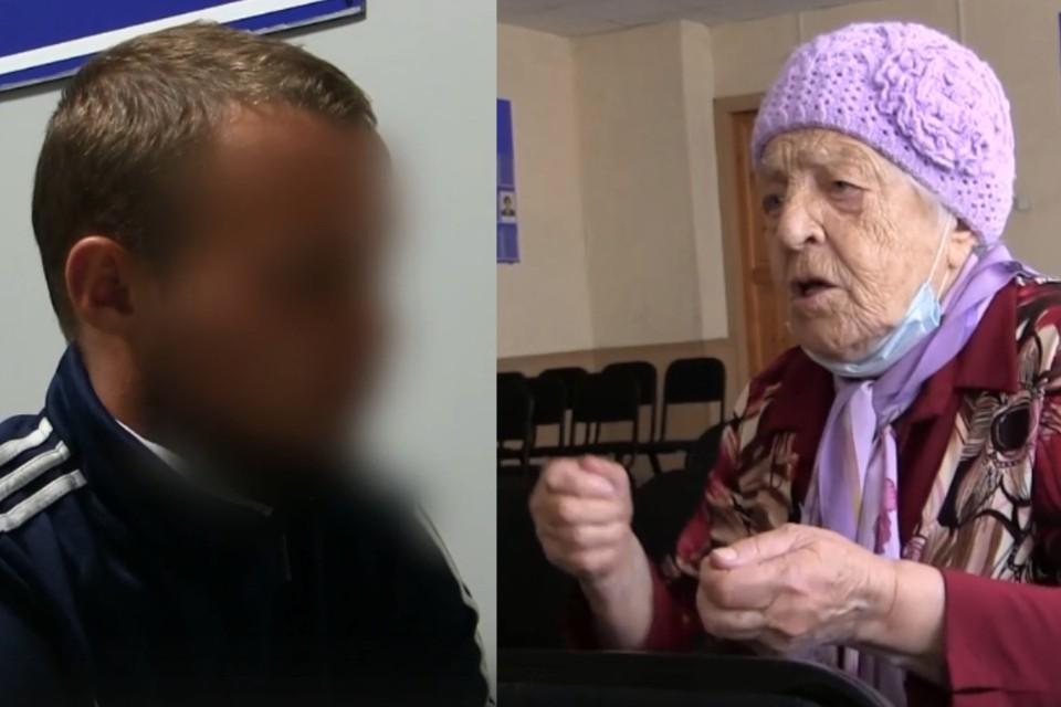 Рецидивист очаровал бабушку, а потом ограбил. Фото: ГУ МВД по Омской области