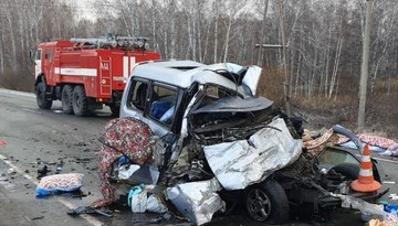 Страшная авария с автобусом под Новосибирском: погибли трое взрослых и двое детей