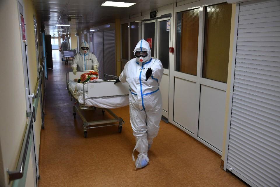 В отделении реанимации и интенсивной терапии находятся 68 пациентов.