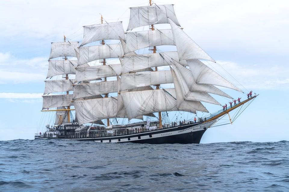 Нижегородский юнга отправится в экспедицию на учебном парусном судне «Паллада». Фото: Нижегородское детское речное пароходство