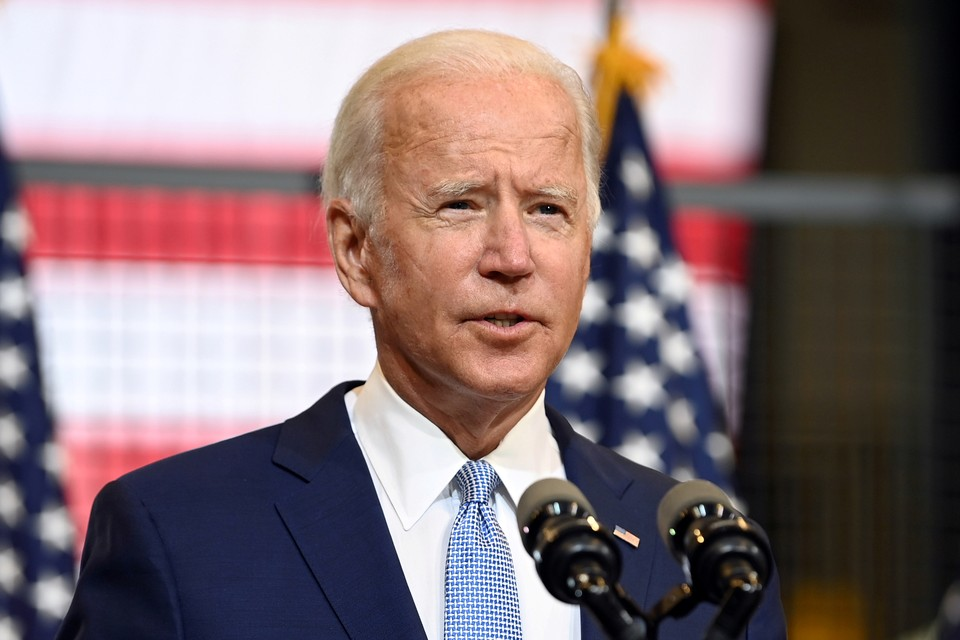 Кандидат в президенты США Джо Байден.