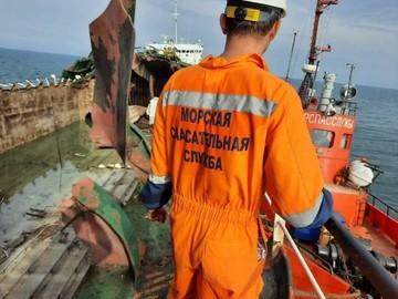 Росморречфлот : поисковая операция в Азовском море завершена