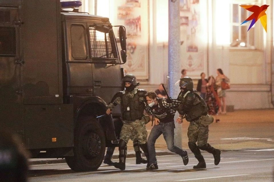 МВД: «25 октября за нарушение законодательства о массовых мероприятиях задержано 523 человека»