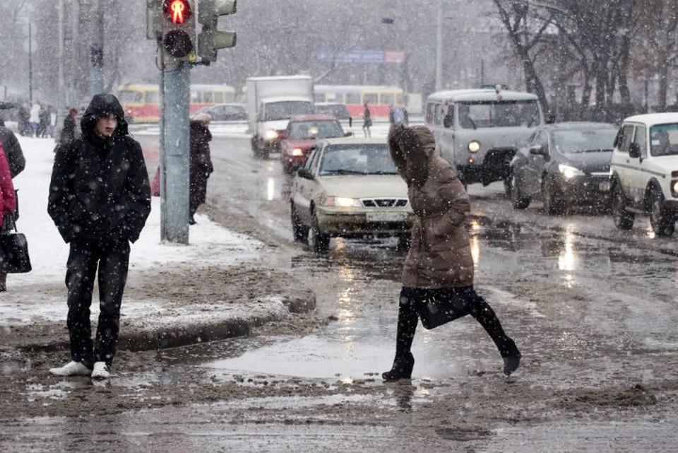 Всю неделю погода будет неустойчивой - несколько дней будет стоять минусовая температура, а затем придет оттепель
