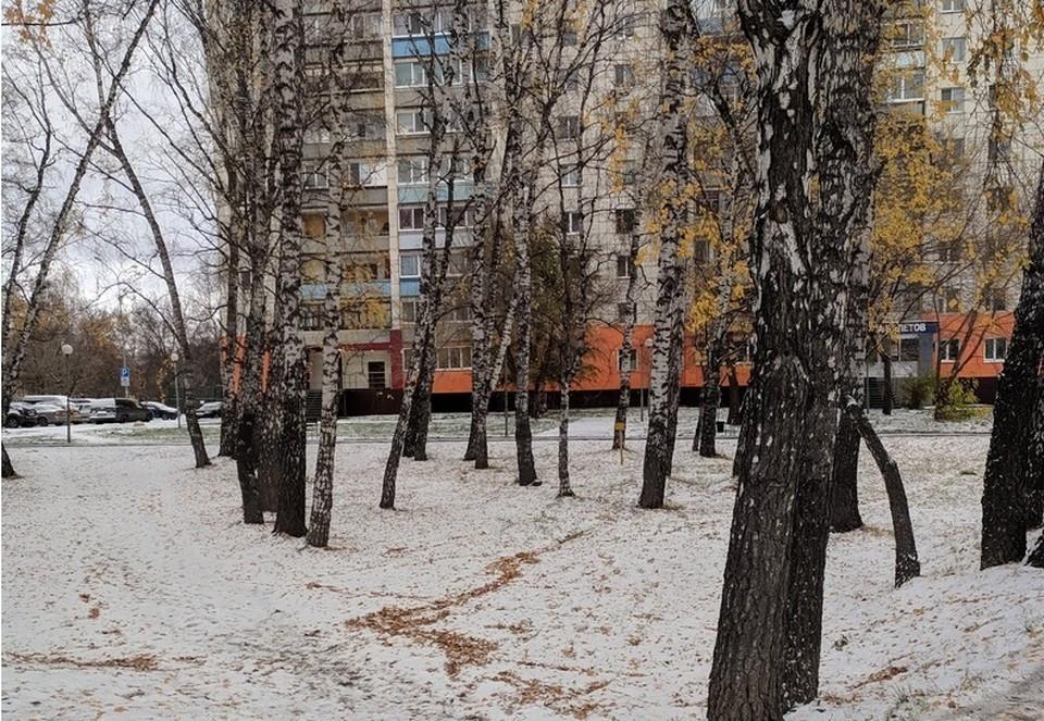 В Тюмени сегодня снег будет идти почти весь день.