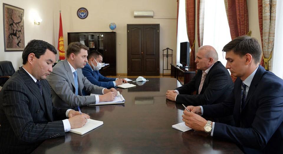 Первый вице-премьер обсудил с российским послом перспективы сотрудничества в экономической сфере.