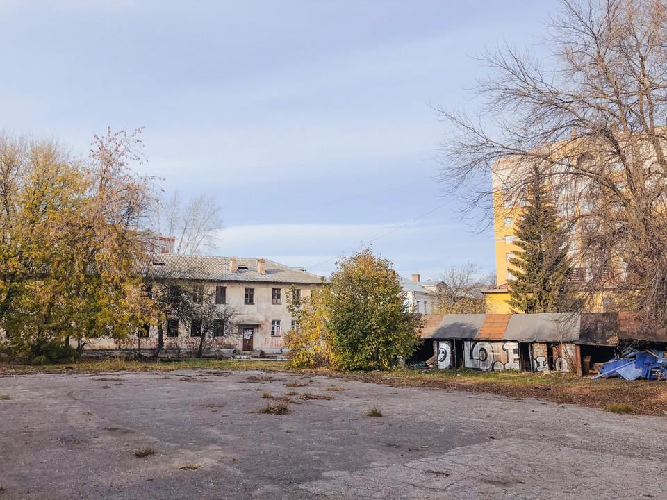 На улице Горького во Владимире появится десятиэтажный дом со встроенным гаражом