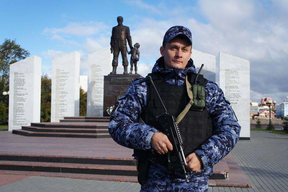 Пятая рота отвечает за самый оживленный район Челябинска — Центральный
