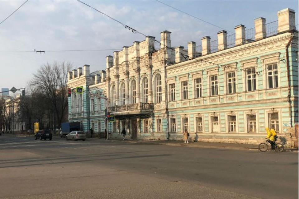 В областном бюджете денег на реставрацию здания нет. ФОТО: Департамент имущественных и земельных отношений Ярославской области