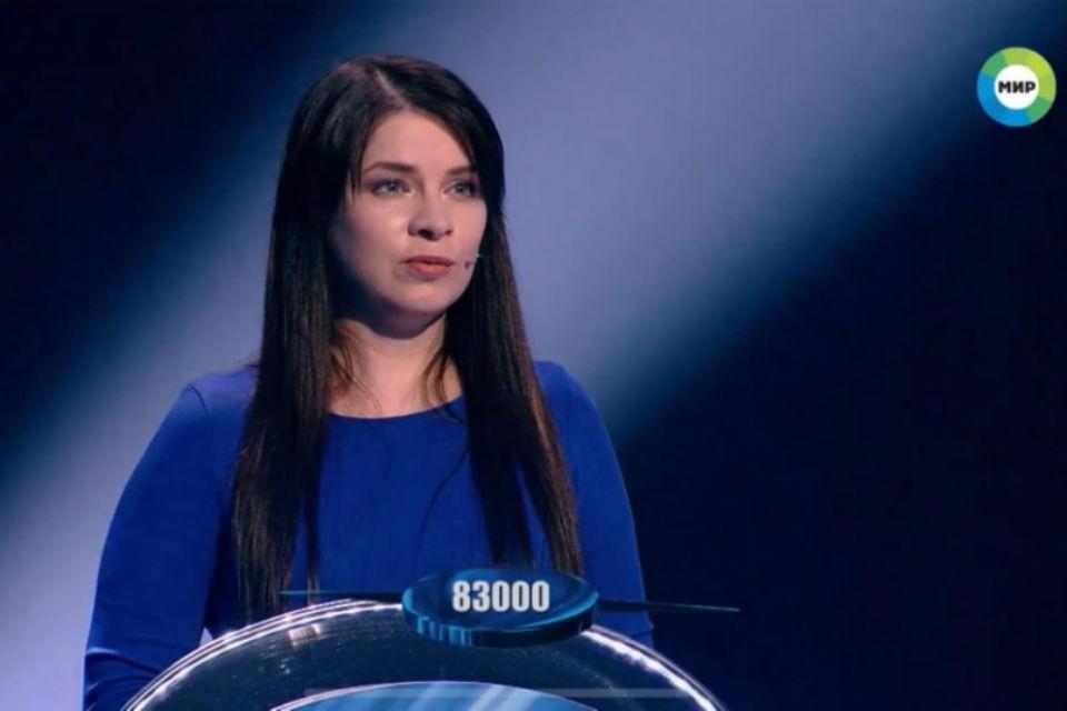 Ирина из Мурманска выиграла 83 тысячи рублей. Фото: скриншот видео