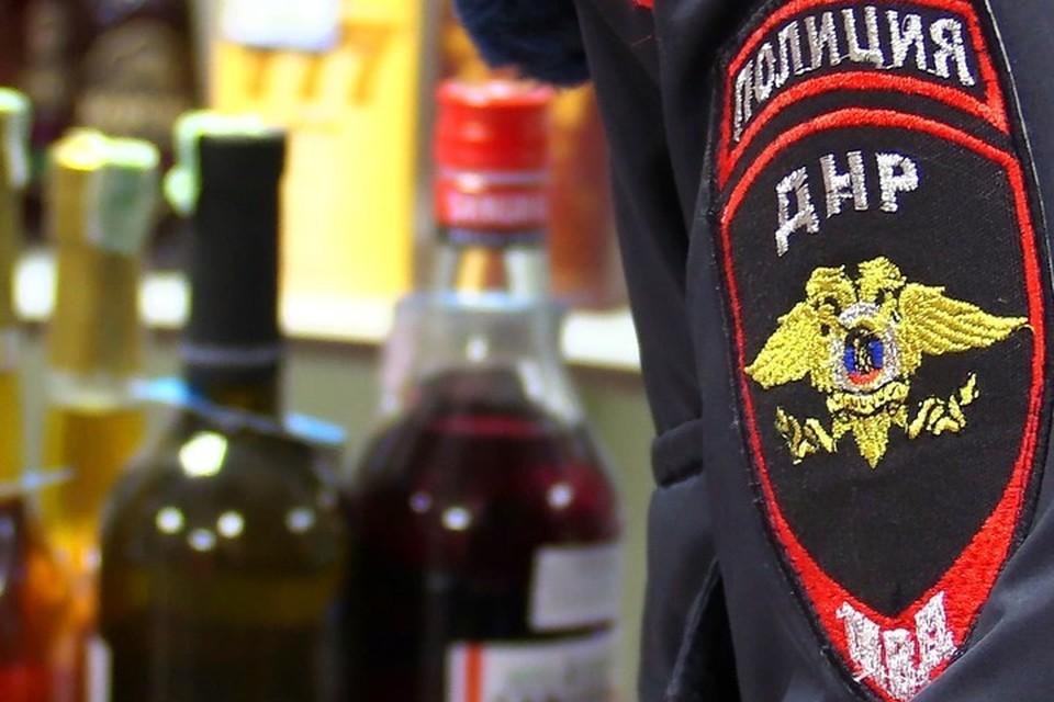 Тяга к спиртному сгубила бывшего охранника супермаркета. Фото: МВД ДНР