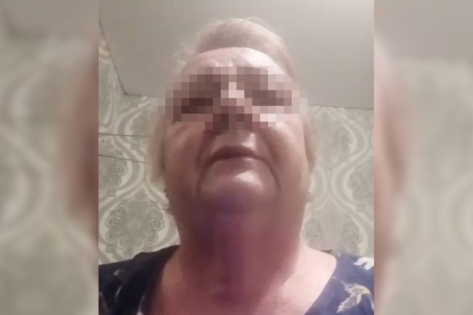 «Если я умру, в этом виноват минздрав»: больная коронавирусом пенсионерка из Читы записала видео. Фото: скриншот