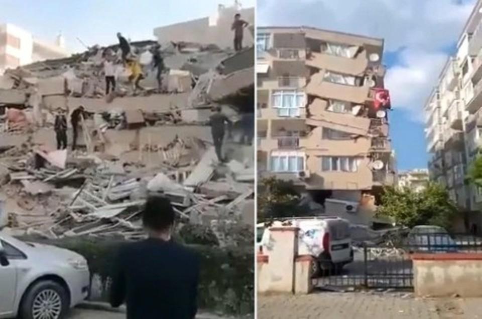 Магнитуда землетрясения у Греции и Турции повышена до 6,9.