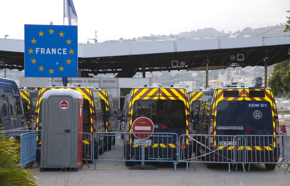Франция усилила пограничный контроль