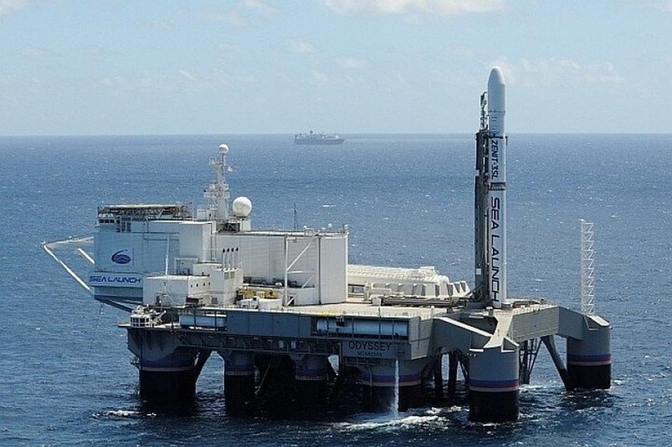 "Плавучий космодром ""Морской старт"". Фото: сайт s7space.ru"