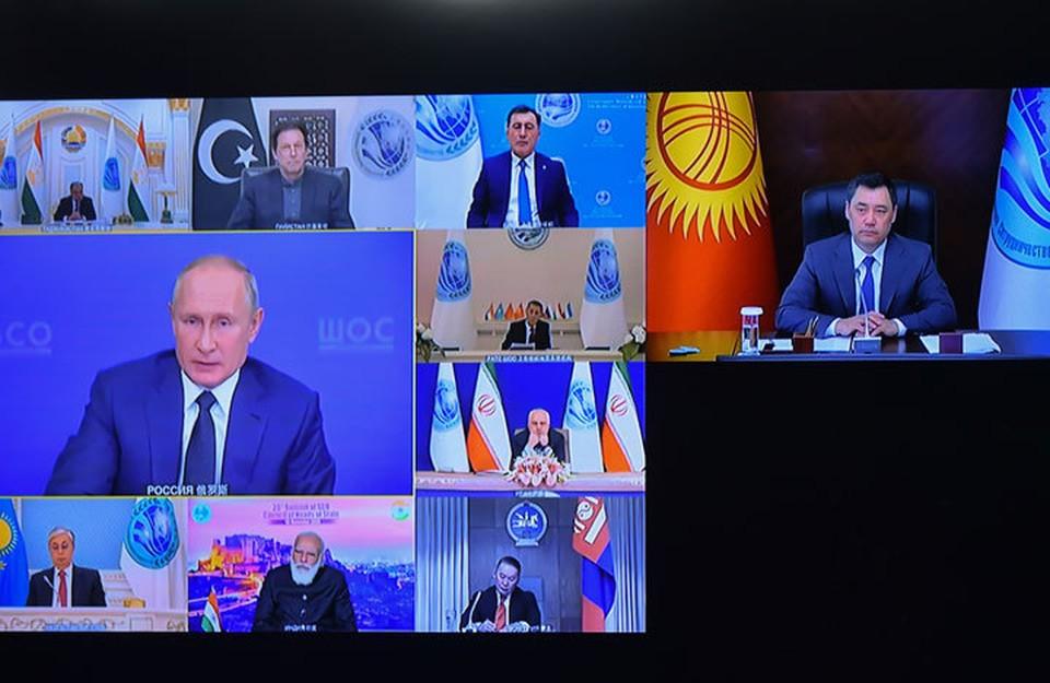 Очередное заседание государств-участников ШОС прошло на виртуальной площадке.