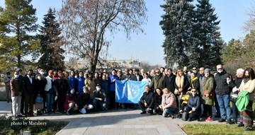 В честь 75-летия ООН в Казахстане открыли «Аллею Мира»