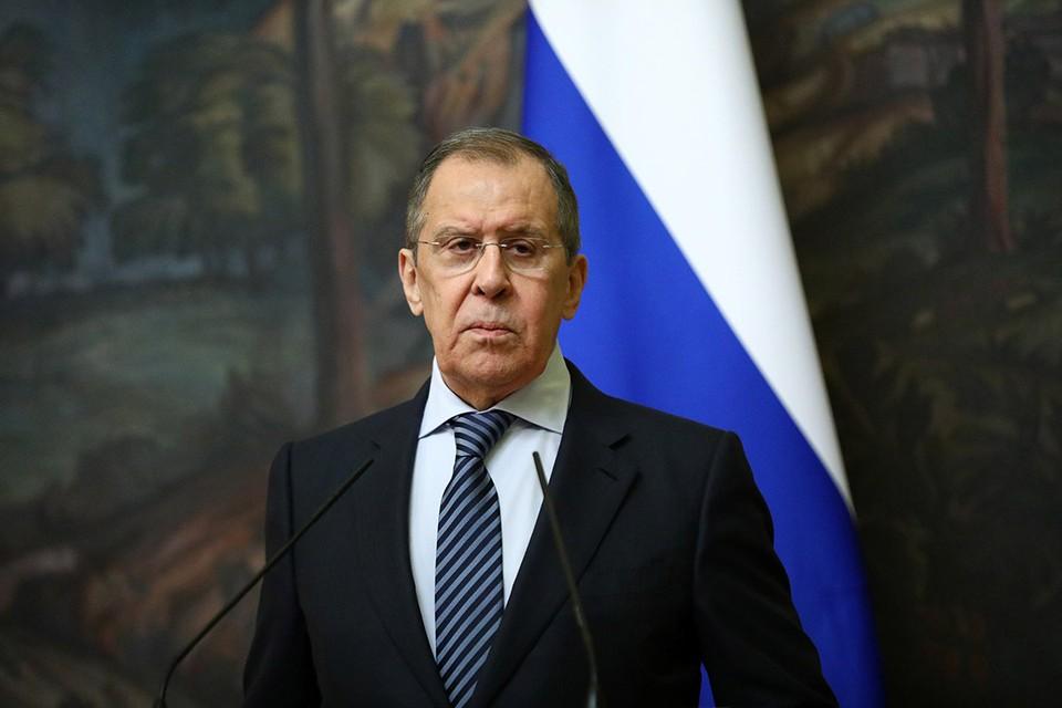 Глава МИД РФ дал большое интервью российским и зарубежным СМИ