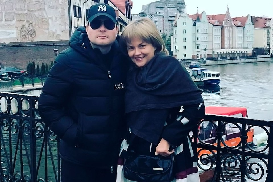 Актриса Александра Яковлева и Николай Басков