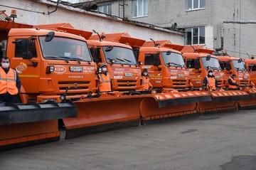 Более ста машин готовы выйти на уборку снега в Курске