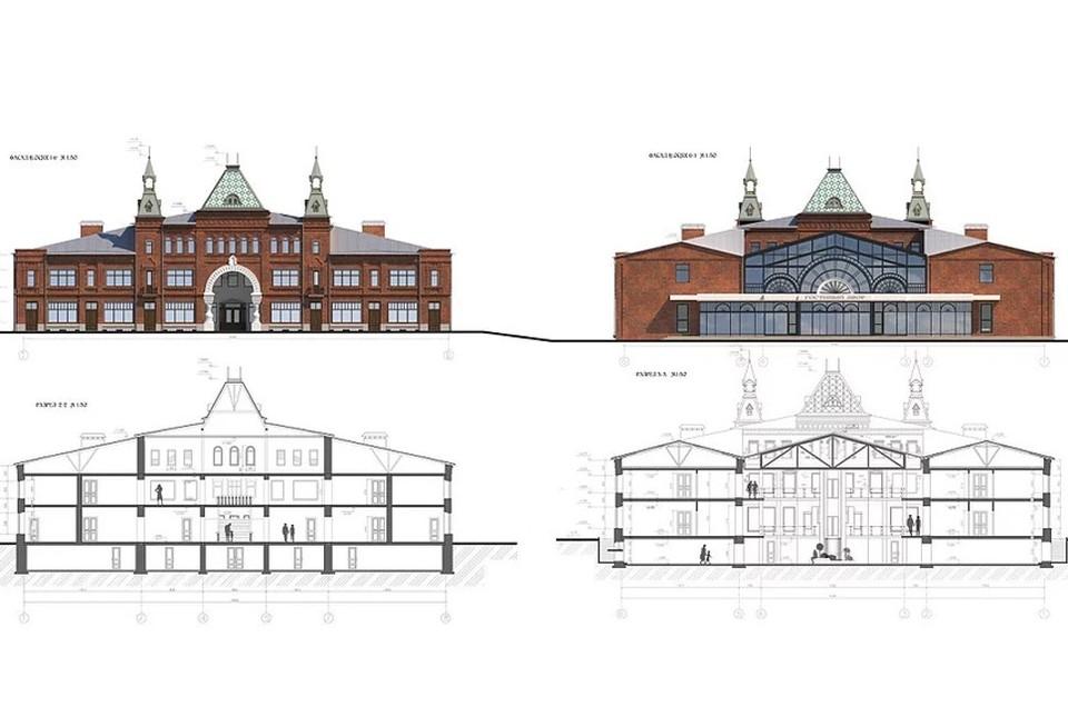 Создан сайт проекта восстановления кимрского Гостиного двора
