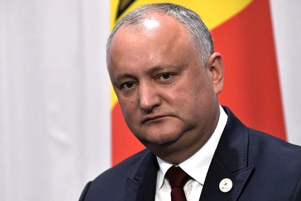 Игорь Додон проголосовал во втором туре выборов президента Молдавии