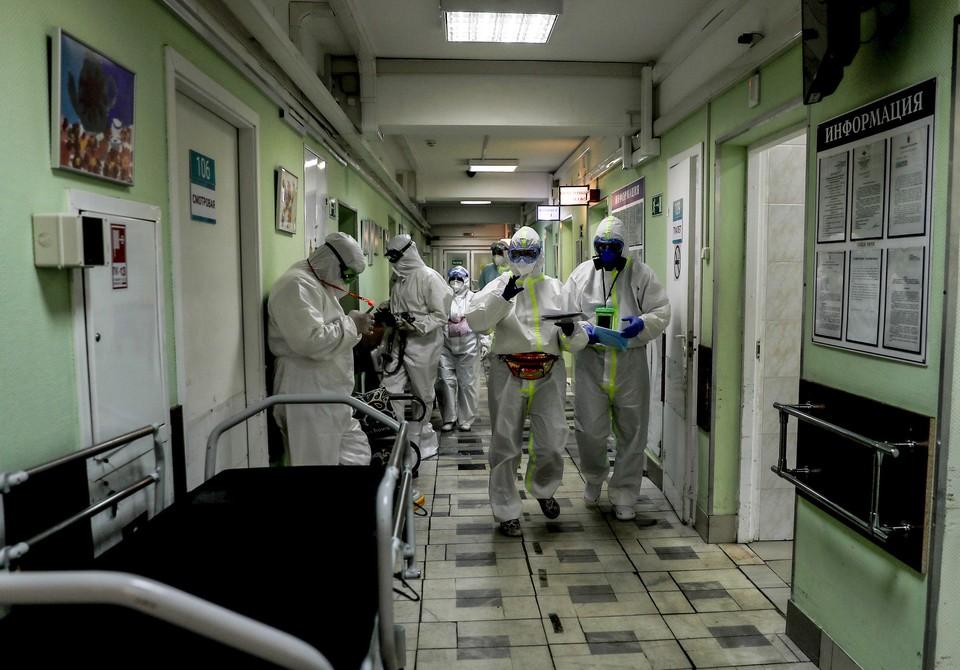 В России выявлено 22 778 новых случаев заражения коронавирусом