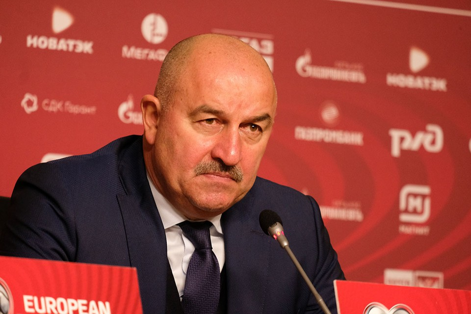Главный тренер сборной России рассказал о подготовке к последней игре сезона