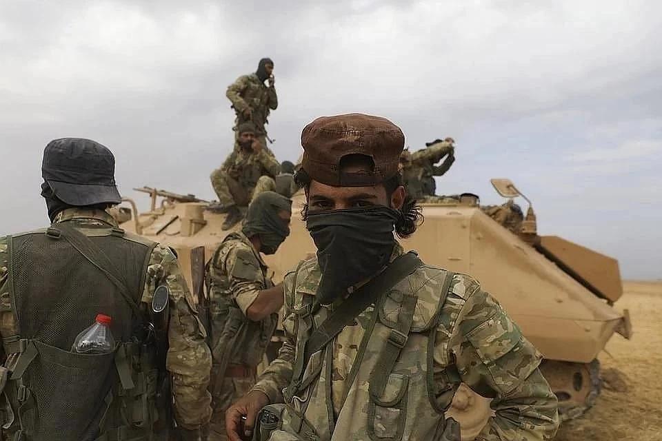 Сирийские системы ПВО отразили ракетный удар в небе над Дамаском