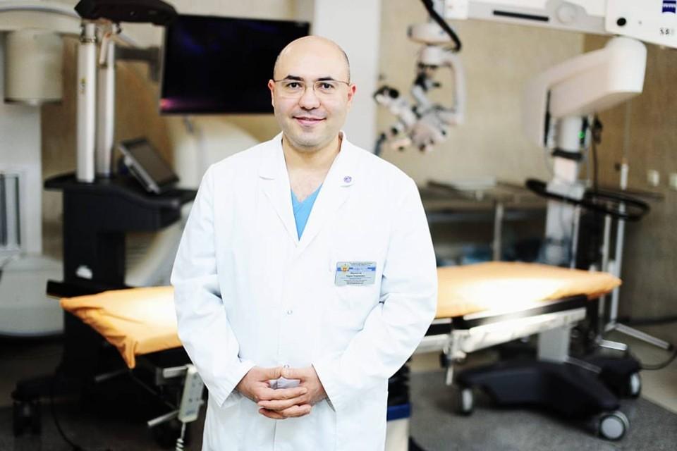 Нейроонколог Карен Айрапетов провел операцию, за которую не решились взяться другие хирурги. Фото: из архива героя публикации