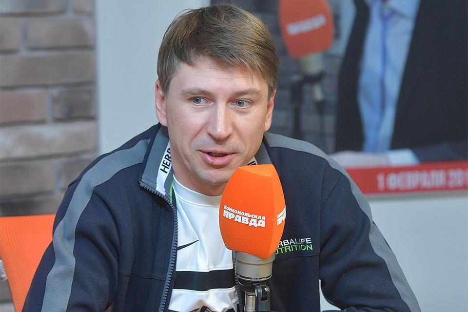 Фигурист Алексей Ягудин на Радио `Комсомольская правда`.