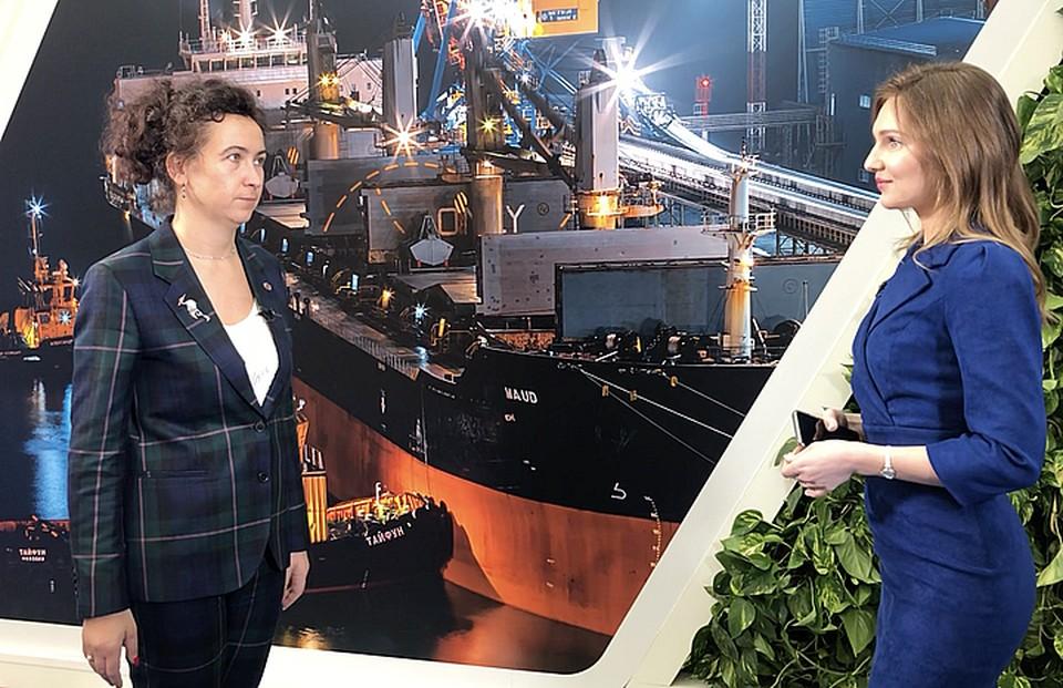 Ирина Ольховская выступила на XIV Международном форуме «Транспорт России»