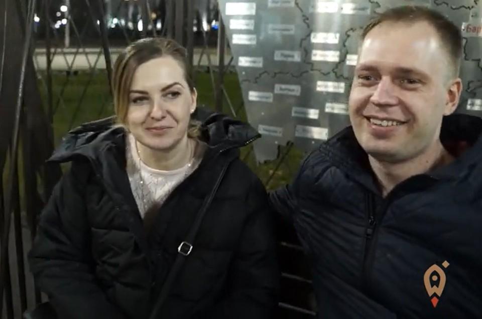 Алексей Доренский с женой