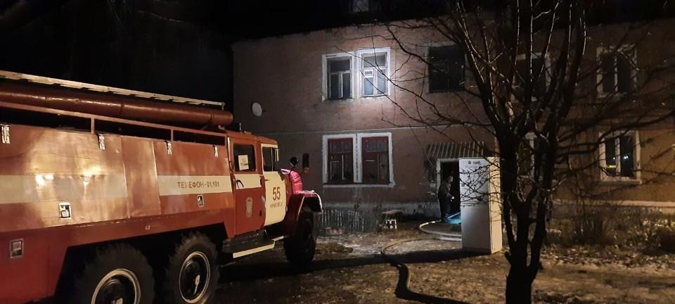 В Тульской области при пожаре в поселке Новольвовский погиб человек