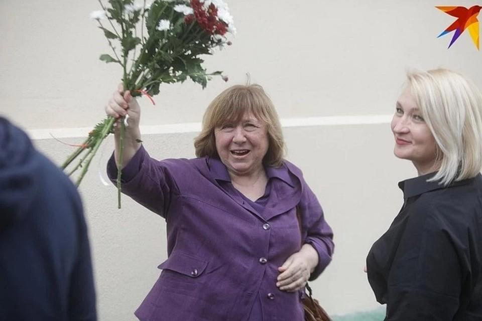 Светлана Алексиевич рассказала, что оппозицией создан Новый Координационный совет.
