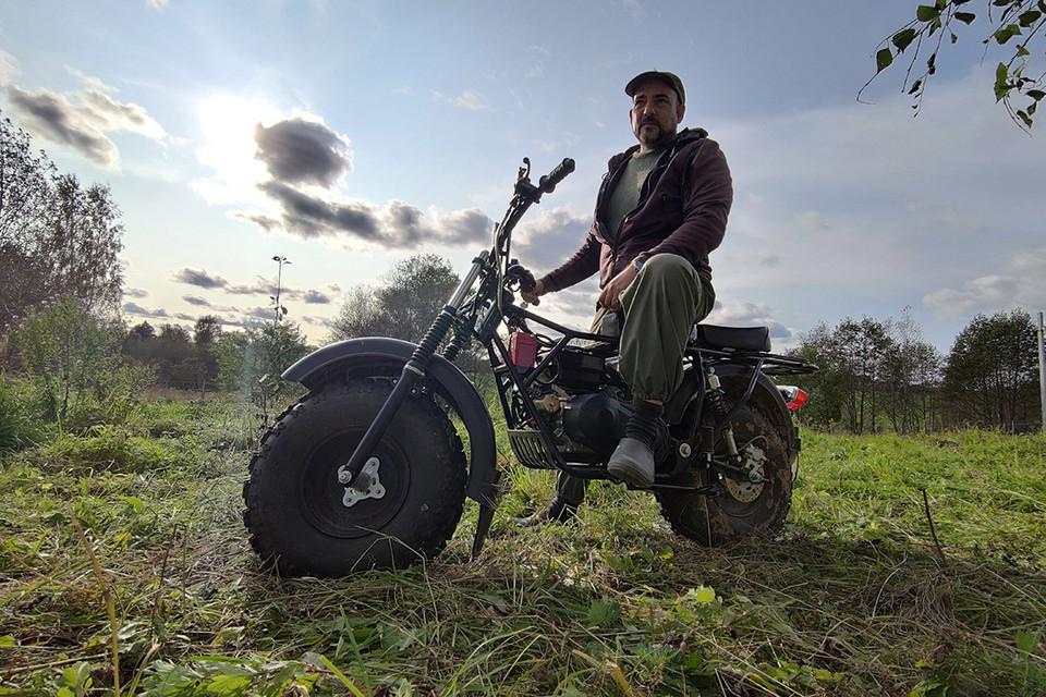 Дмитрий Стешин отправился на коронавирусный карантин на природу, в свой загородный купольный дом.