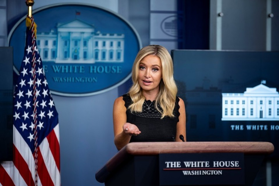 Пресс-секретарь Белого дома Кейли Макинэни