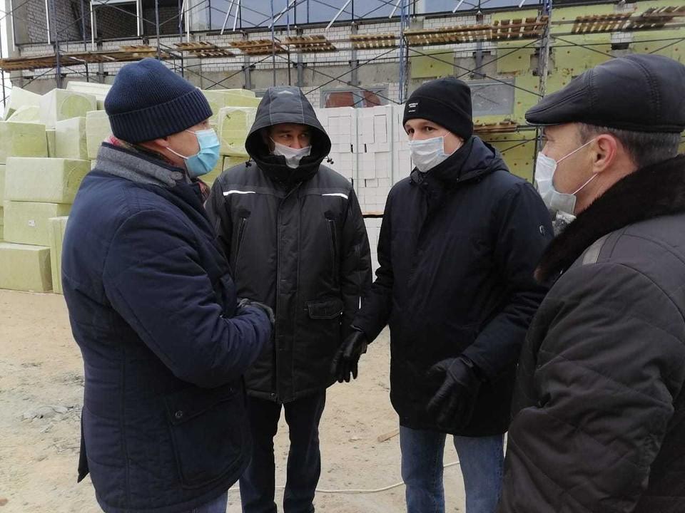 Глеб Никитин поручил усилить контроль за строительством зала художественной гимнастики в Заволжье