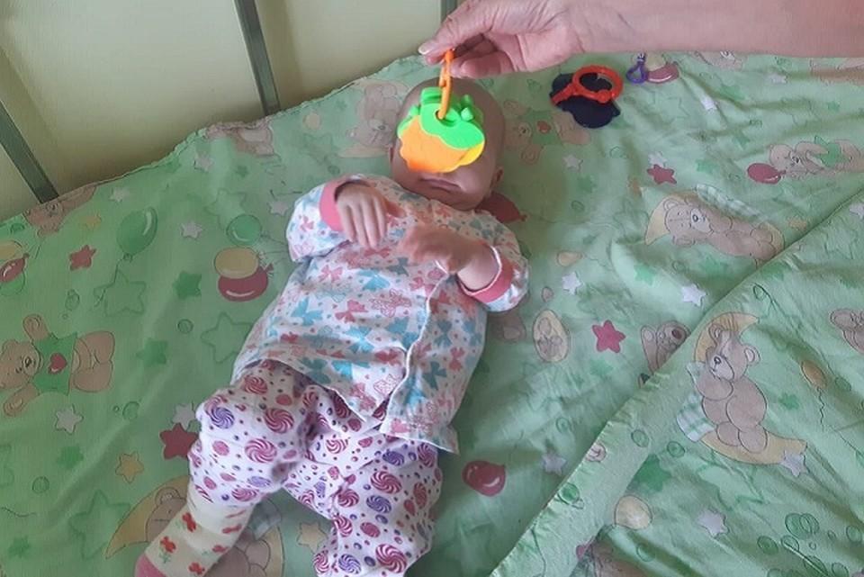 За полтора месяца в больнице малышка набрала более двух килограммов. Фото: Константин Шестаков