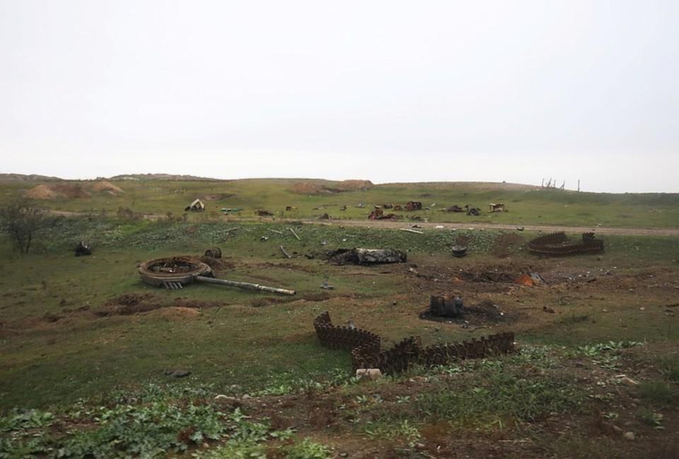 Российский миротворец ранен из-за взрыва мины в Карабахе