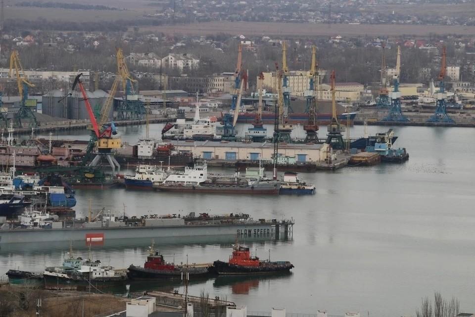Развитие портового хозяйства Крыма имеет определенные ограничения из-за сложной политической ситуации
