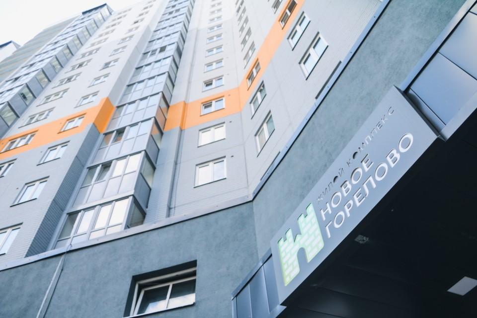 """В жилом квартале «Новое Горелово» инфраструктура появляется одновременно с домами. Фото: СК """"ЛенРусСтрой""""."""